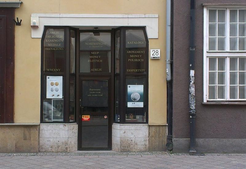 gabinet  numizmatyczny