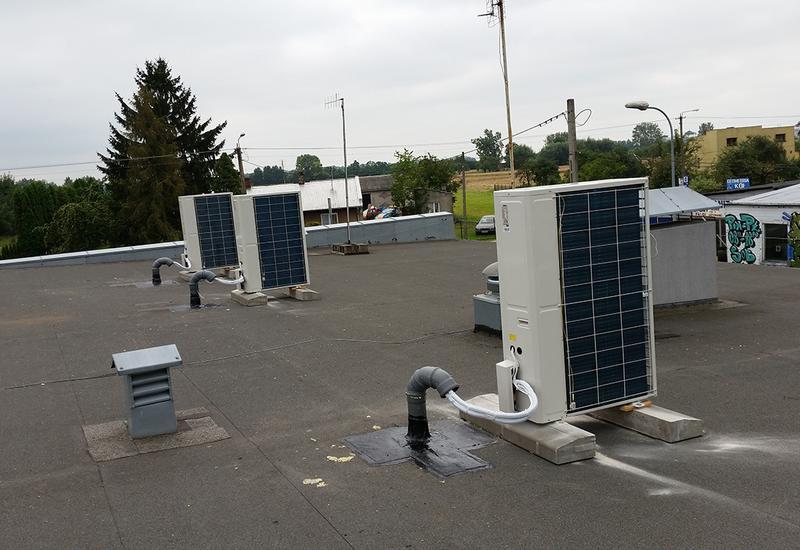 montaż skraplaczy freonowych - KABO Chłodnictwo Klimatyz... zdjęcie 2