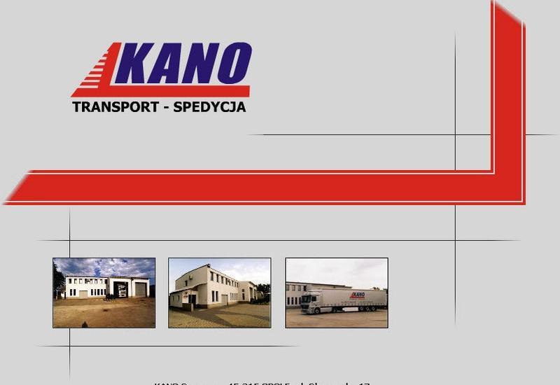 usługi spedycyjne opole - Kano Sp. z.o.o. zdjęcie 1