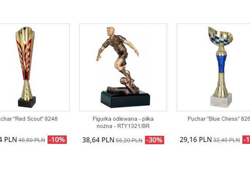 puchary, medale, statuetki