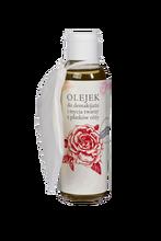 Olejek do demakijażu i mycia twarzy - płatki róży