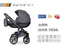 Wózek wielofunkcyjny Riko Brano (Carbon)