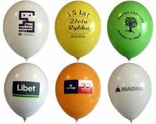 Balony z nadrukiem kolorowym