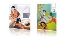 Ilustracje, rysunki, story boardy