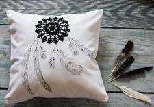 poszewki malowane ręcznie - Maminoko - poduszki i akw... zdjęcie 9