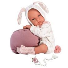 Hiszpańska lalka bobas dziewczynka Bimba Króliczek