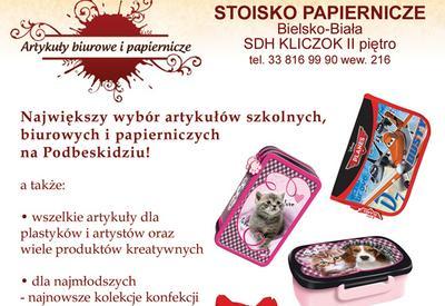 bc1188dab5195 Stoisko Papiernicze Distel B., Dukielska E., Ligocka A. Artykuły ...