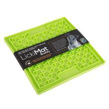 LickiMat Buddy soft krzyżk zielona i pomarańczowa