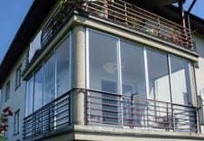 ścianki osłonowe - ALUMARK - zabudowy balkon... zdjęcie 1